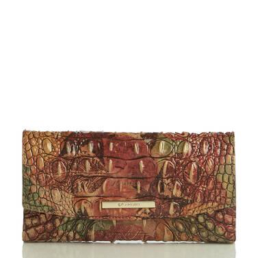 Modern Checkbook Wallet Foliage Melbourne Front