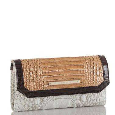 Soft Checkbook Wallet Coconut Kedima Side