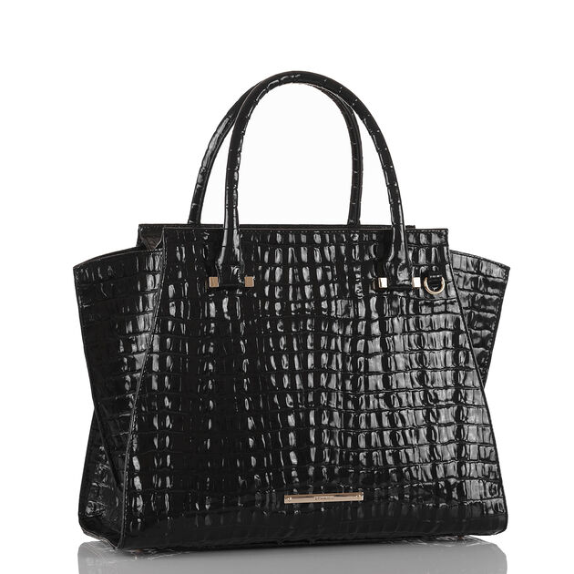 Priscilla Satchel Black La Scala