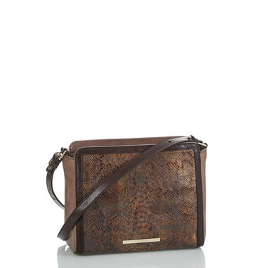Carrie Crossbody Brown Barrow Front