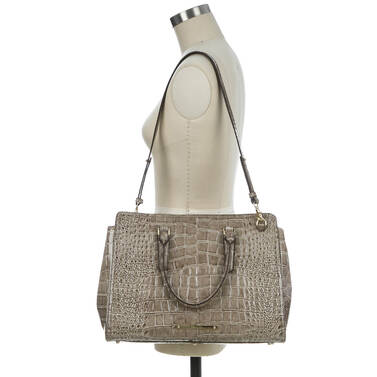 Finley Carryall Beige Portsmouth on figure for scale