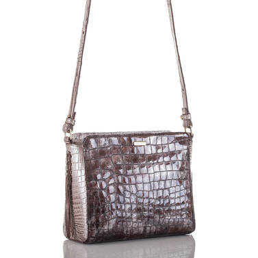 Carrie Crossbody Brown Charente Side