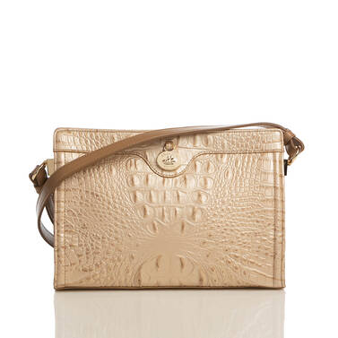 Alonna Champagne Augustine Front Brahmin Exclusive