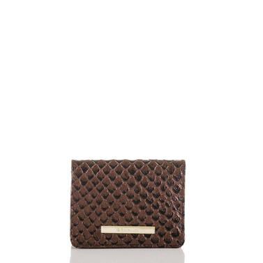 Mini Key Wallet Bronze Java Front