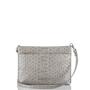 Remy Crossbody Silver Pamilla Front