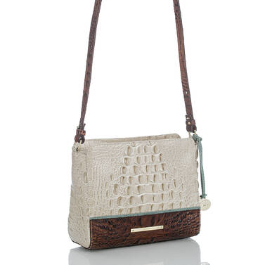Carrie Crossbody Linen Tri-Color Side