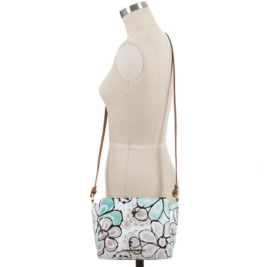 Carrie Crossbody Turquoise Kelson Front