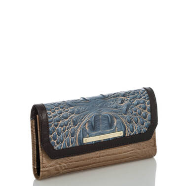 Soft Checkbook Wallet Satellite Palma Side