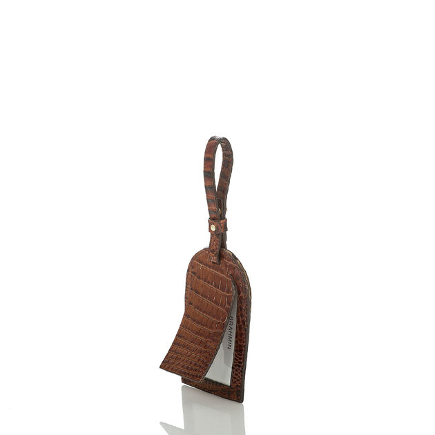 Heritage Luggage Tag Pecan Melbourne