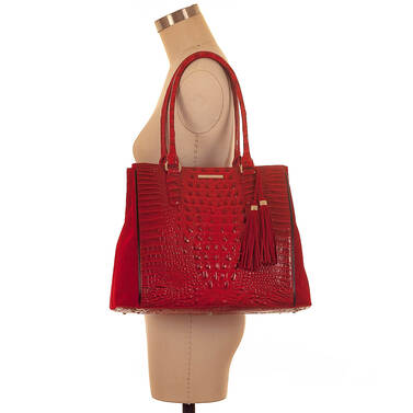 Joan Tote Scarlet Lausanne On Mannequin