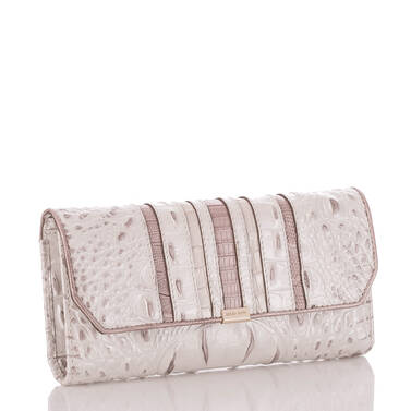 Soft Checkbook Wallet Toasted Macaroon Orleans Side