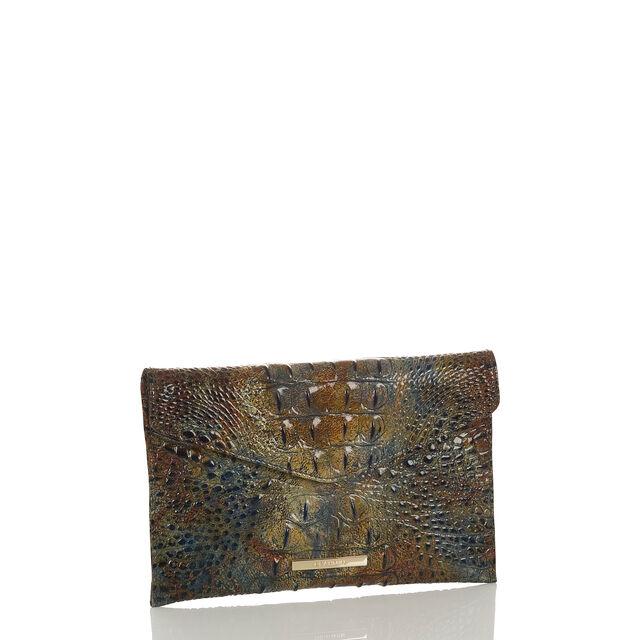Envelope Clutch Cedar Melbourne, Cedar, hi-res