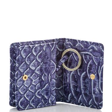 Mini Key Wallet Denim DelRay Interior