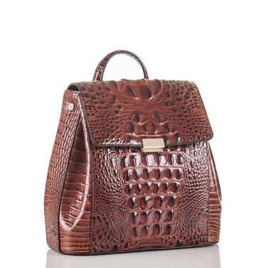 Margo Backpack Pecan Melbourne Side