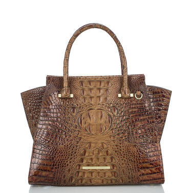 Priscilla Satchel Toasted Almond Melbourne Front