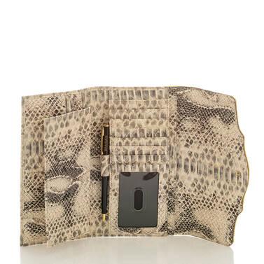 Soft Checkbook Wallet Sunflower Astaire Interior