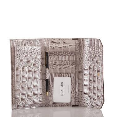 Soft Checkbook Wallet Chardonnay Clermont Interior