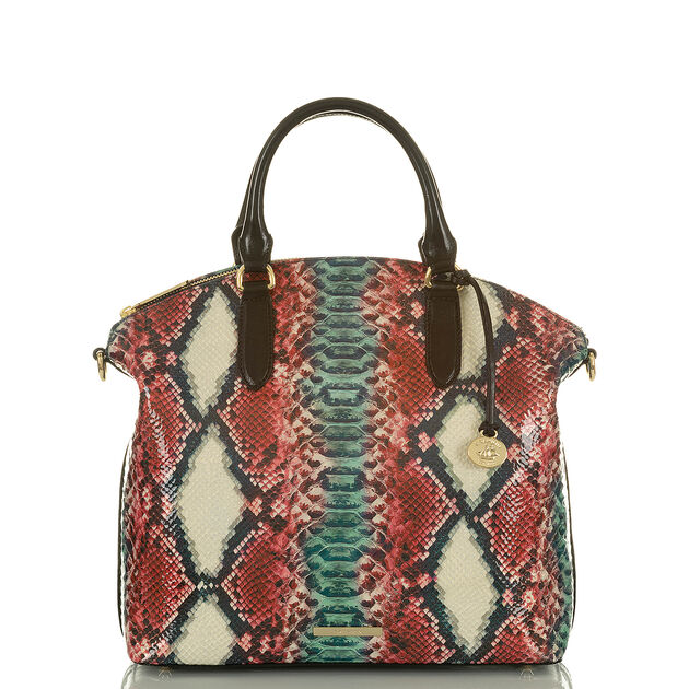 Large Duxbury Satchel Lava Simmons