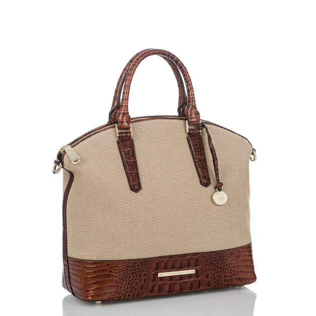Large Duxbury Satchel Pecan Harbor