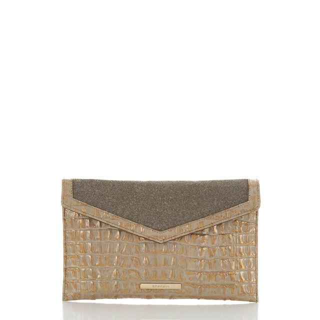 Envelope Clutch Gold Golightly, Gold, hi-res