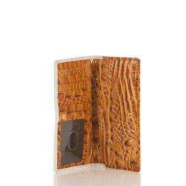 Ady Wallet Dark Rum Shirin Interior