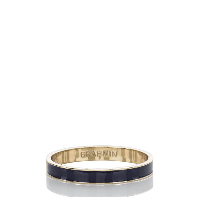 Fairhaven Thin Bangle Navy Jewelry, Navy, hi-res