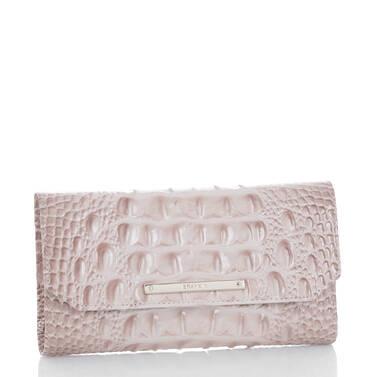 Soft Checkbook Wallet Blossom Melbourne Side