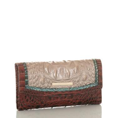 Modern Checkbook Wallet Moonscape Portia Side