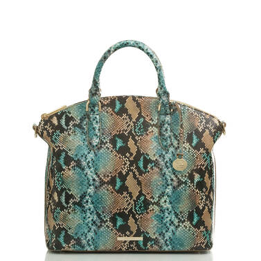 Large Duxbury Satchel Ocean Lilyana Video Thumbnail