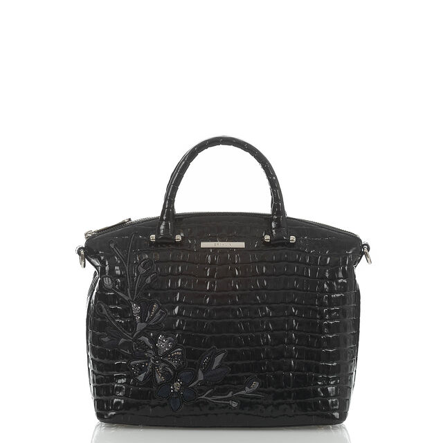 Duxbury Satchel Black Darling, Black, hi-res
