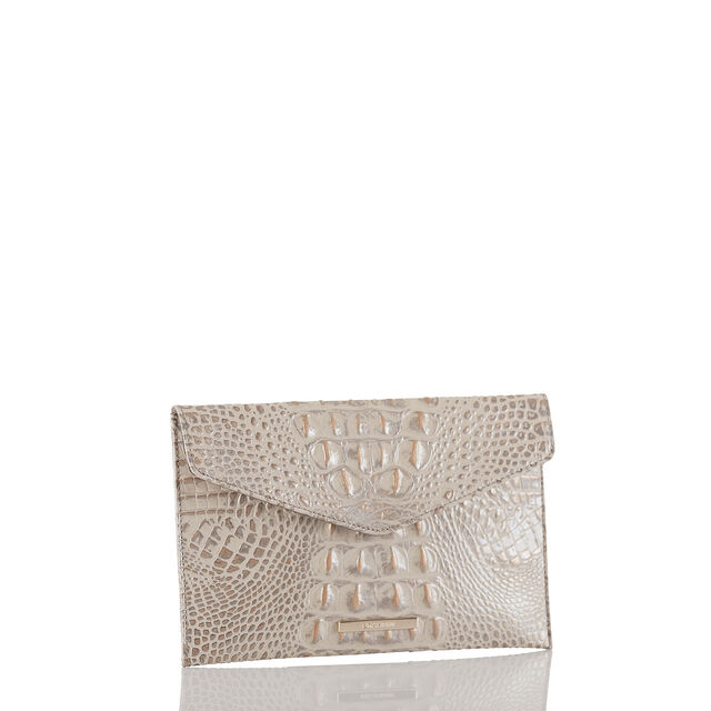 Envelope Clutch Silver Birch Melbourne, Silver Birch, hi-res