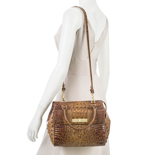 Malia Satchel Toasted Almond Melbourne