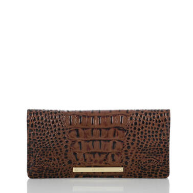 Ady Wallet Black Tuscan Tri-Texture Front