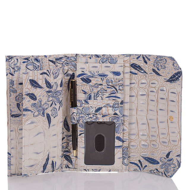 Soft Checkbook Wallet Indigo Palaminto, Indigo, hi-res
