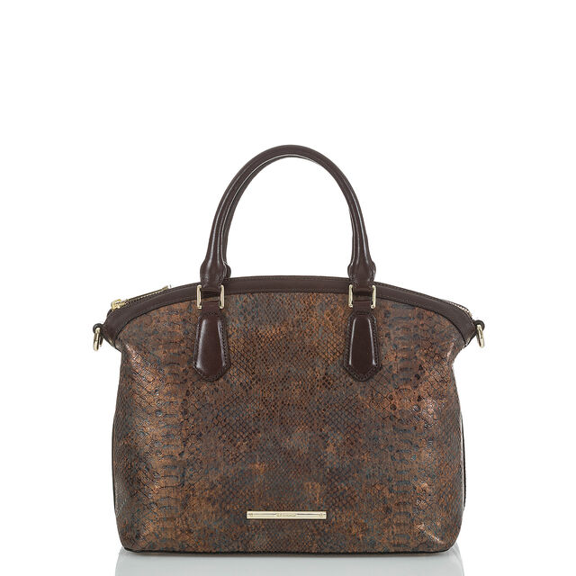 Duxbury Satchel Brown Barrow, Brown, hi-res