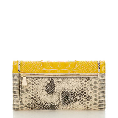 Soft Checkbook Wallet Sunflower Astaire Back