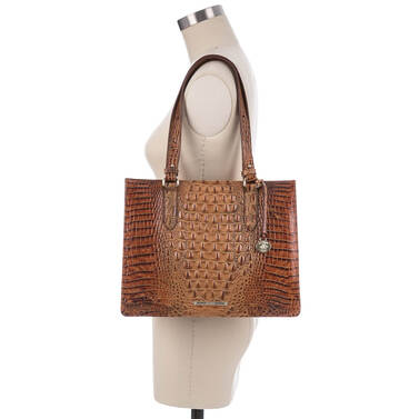 Medium Camille Toasted Almond Melbourne On Mannequin