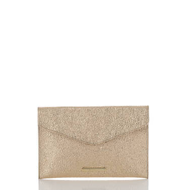 Envelope Clutch Gold Grady Front