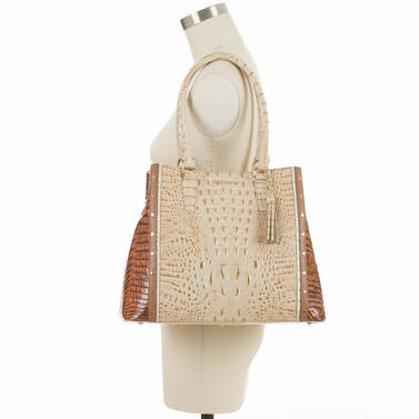Joan Tote Champagne Koubba On Mannequin