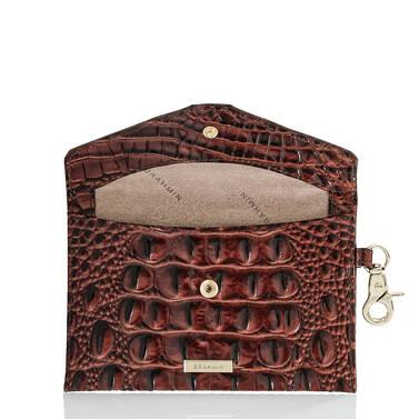 Mini Envelope Case Pecan Melbourne Interior