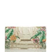 Modern Checkbook Wallet Ivory Tahiti