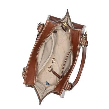 Mini Priscilla Cognac Topsail Interior