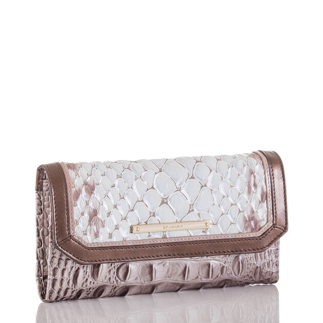 Soft Checkbook Wallet Sky Carlisle