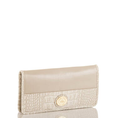 Ady Wallet Taupe Quincy Side