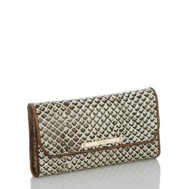 Soft Checkbook Wallet Onyx Java Side