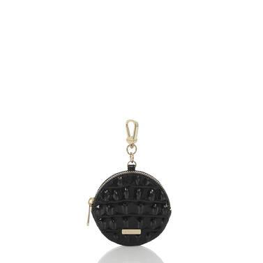 Circle Coin Purse Black Melbourne Front