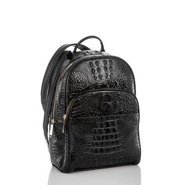 Dartmouth Backpack Black Melbourne Side