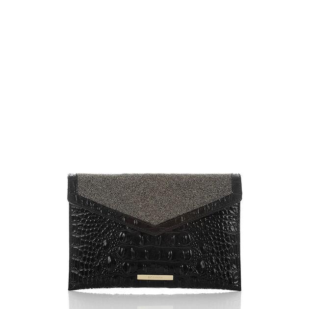 Envelope Clutch Black Golightly, Black, hi-res