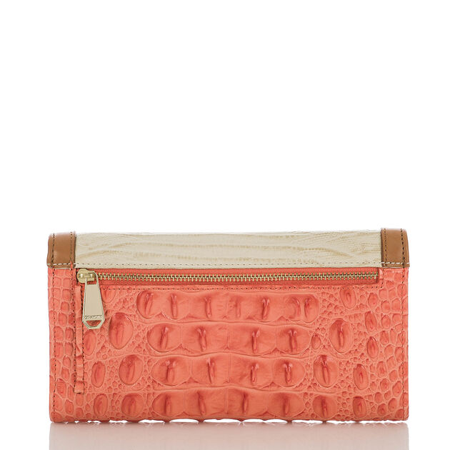 Soft Checkbook Wallet Creamsicle Andes
