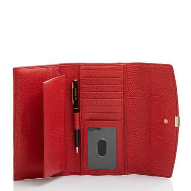 Modern Checkbook Wallet Heat Newbury Interior